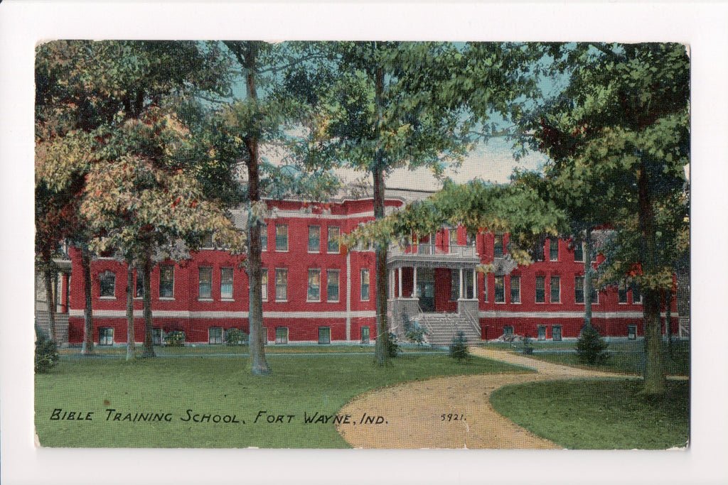 IN, Fort Wayne - Bible Training School postcard - A07058
