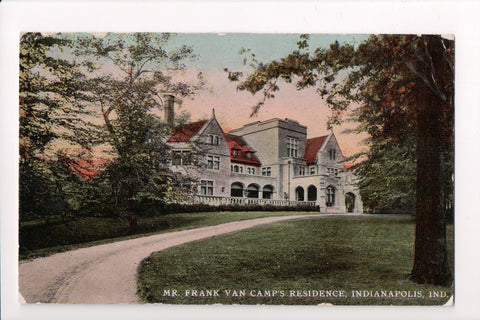IN, Indianapolis - Frank Van Camps Residence - C06378