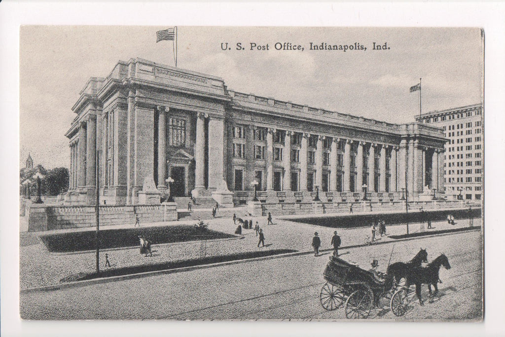 IN, Indianapolis - Post Office postcard - J03241