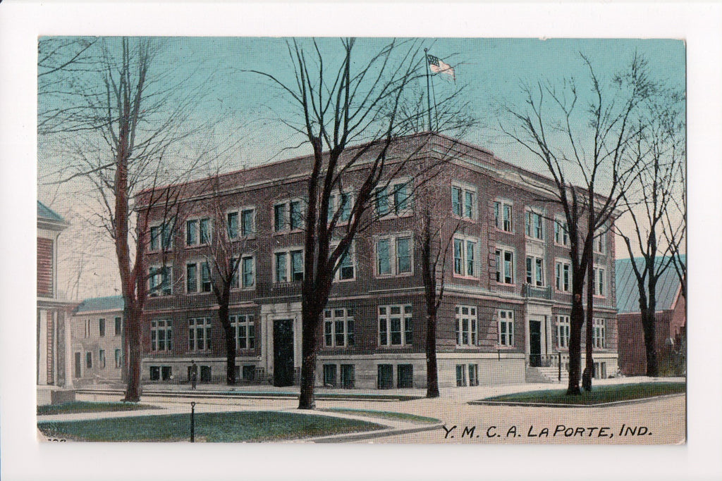 IN, LaPorte - YMCA postcard - R00409