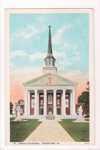 KY, Bardstown - St Joseph Cathedral - B17021