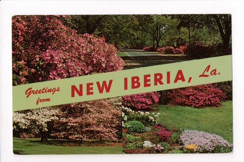 LA, New Iberia, Greetings (Only Digital Copy Avail) - MB0696