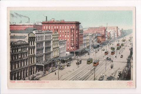 LA, New Orleans - Canal Street- Detroit Photographic - CP0167