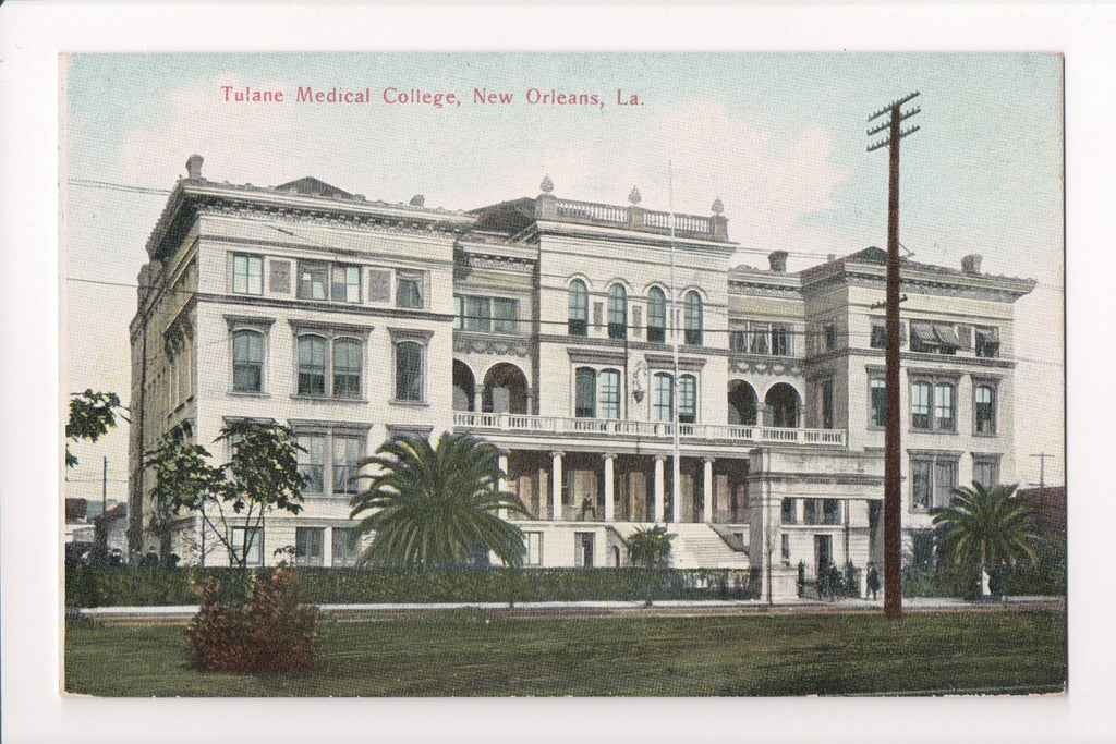 LA, New Orleans - Tulane Medical College - Grombach-Faisans - CP0170