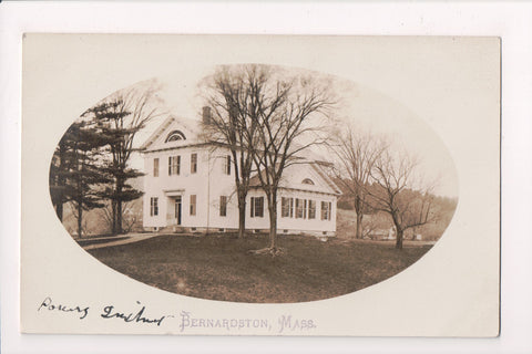 MA, Bernardston - Powers Institute - @1910 RPPC postcard - BP0003