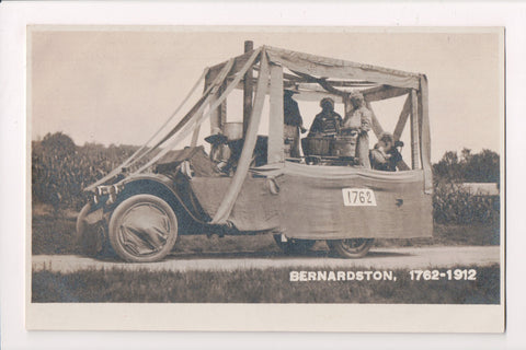 MA, Bernardston - Truck decked out for a parade - Doing Laundry? - RPPC - BP0007