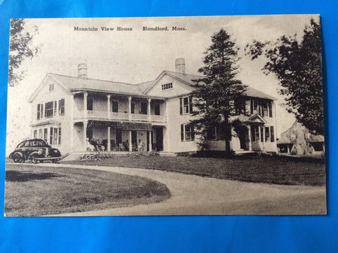 MA, Blandford - Mountain View House postcard - H15022