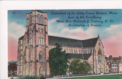 MA, Boston - Cathedral of the Holy Cross, Rev Richard J Cushing, DD - C04298