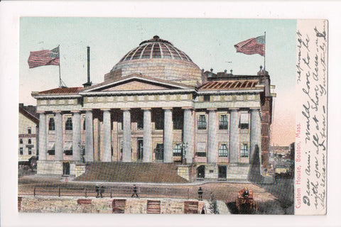 MA, Boston - Custom House - DORCHESTER STATION flag postmark - w02013