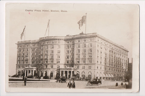 MA, Boston - Copley Plaza Hotel, @1925 postcard - w04643
