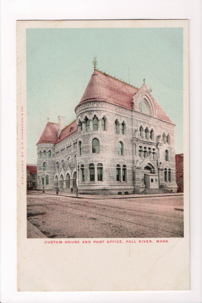 MA, Fall River - Custom House and Post Office - CP0143