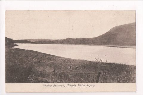 MA, Holyoke - Whiting Reservoir - @1909 HOLYOKE flag killer - w04841