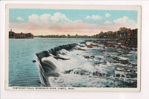 MA, Lowell - Pawtucket Falls - ST ALBANS - BOSTON rpo cancel - JJ0714