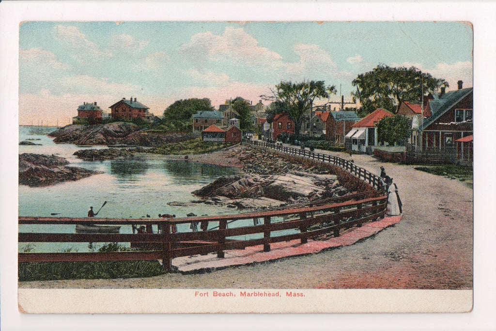 MA, Marblehead - Fort Beach, residences - DOA cancel HOLLIS CENTER, ME - C06609