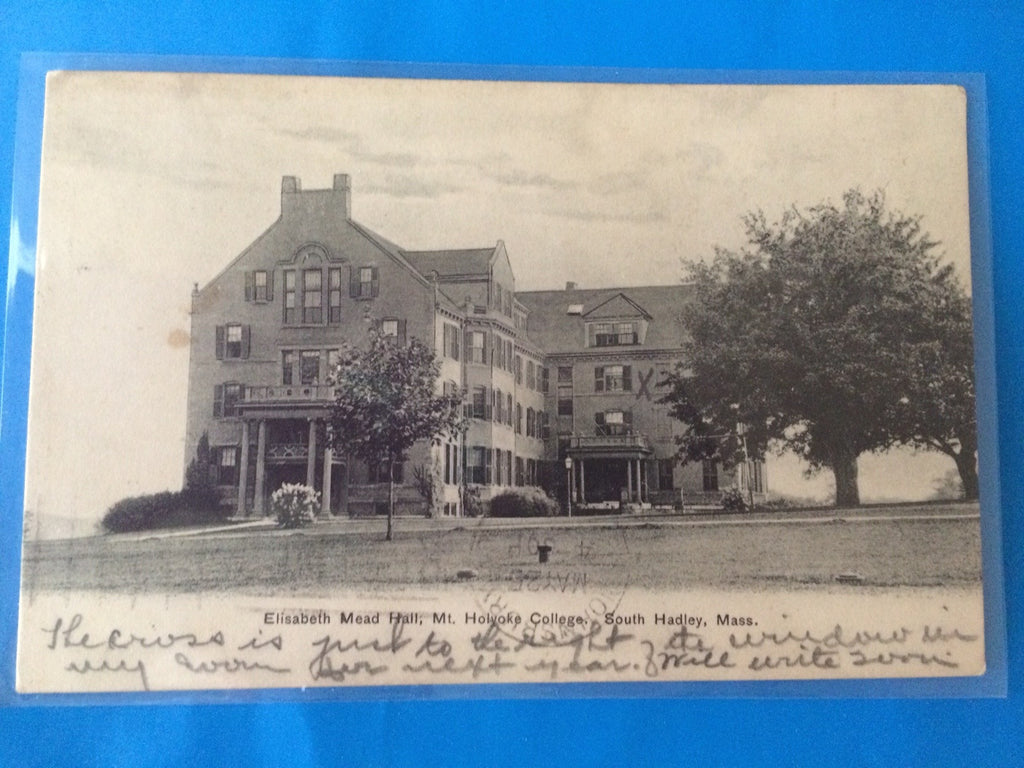 MA, South Hadley - Elisabeth Mead Hall, Mt Holyoke postcard - H15011