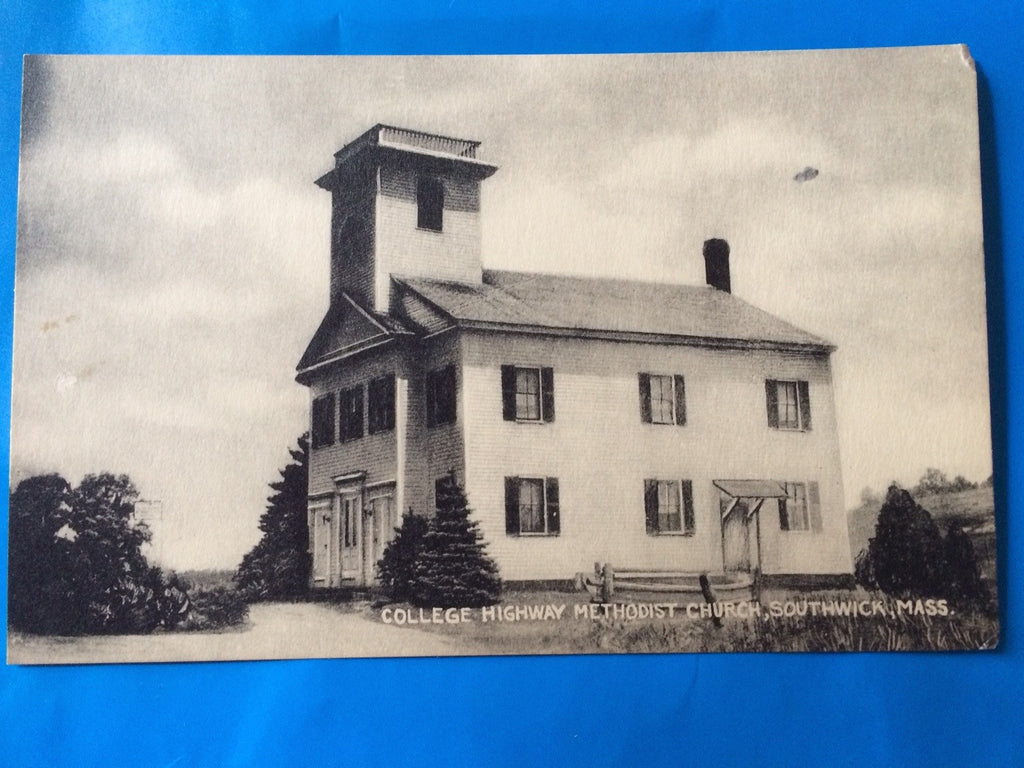 MA, Southwick - College Highway Methodist Church postcard - H15024