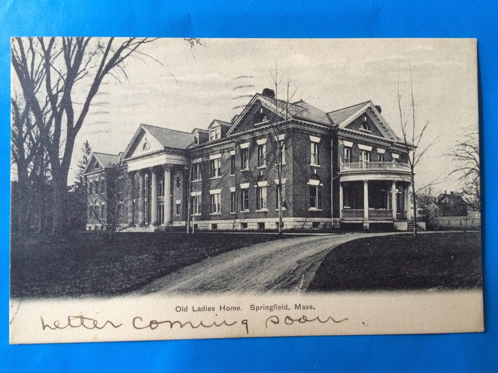 MA, Springfield - Old Ladies Home postcard - H15026
