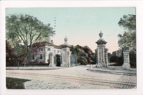 MD, Baltimore - Patterson Park Entrance - @1908 postcard - A06882