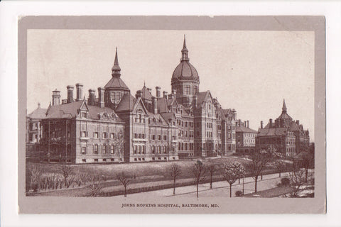 MD, Baltimore - John Hopkins Hospital @1908 - A17462