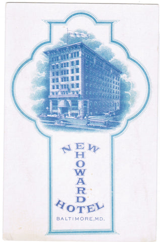 MD, Baltimore - Howard Hotel (New) - C04058