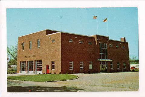 MD, Berlin - Berlin Volunteer Fire Co, fire department building - 400349