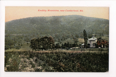 MD, Cumberland - Knobley Mountains, house or school house - K03180