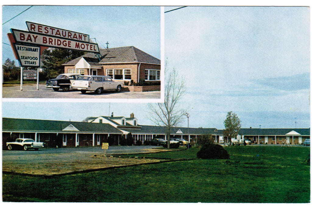 MD, Grasonville - Bay Bridge Motel, Restaurant - w00586