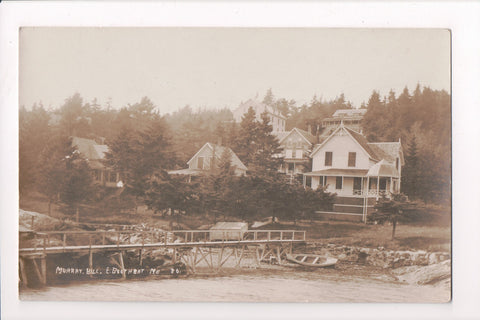 ME, East Boothbay - Murray Hill, Forest House - early 1910s - RPPC - C06196