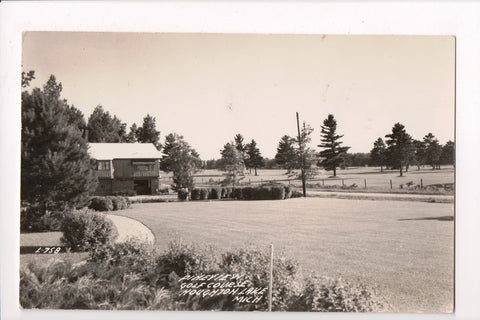 MI, Houghton Lake - Pine View Golf Course - @1947 LL Cook RPPC - R00385