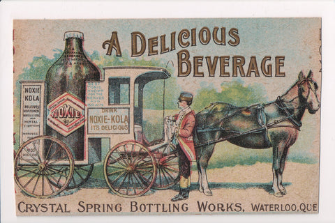 Advertising postcard - NOXIE KOLA Sparkling Beverage, tonic - B08243