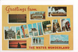 MI, Michigan - Greetings from, Large Letter postcard - B08276