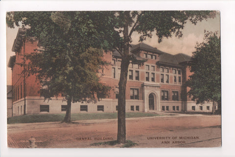 MI, Ann Arbor - Dental Building, Univ of Michigan - Geo Wahr - CP0281