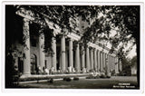 MI, Battle Creek - Sanitarium Colonnade, people on porch RPPC - C08519