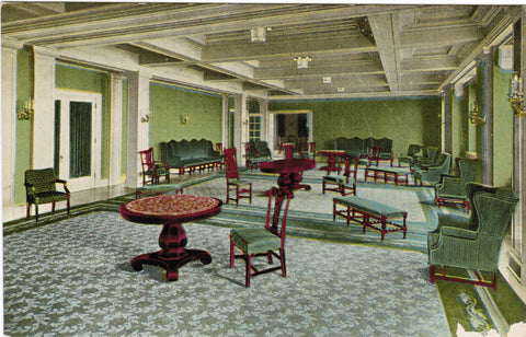 MI, Detroit - Hotel Pontchartrain Assembly Room - Chilton card - B06243