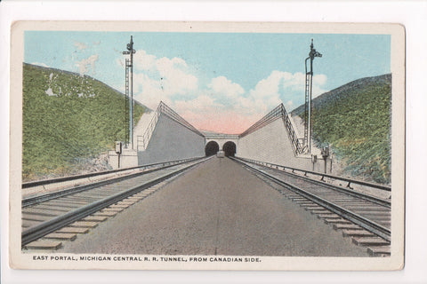 MI, Detroit - East Portal Michigan Central RR Tunnel - A17042