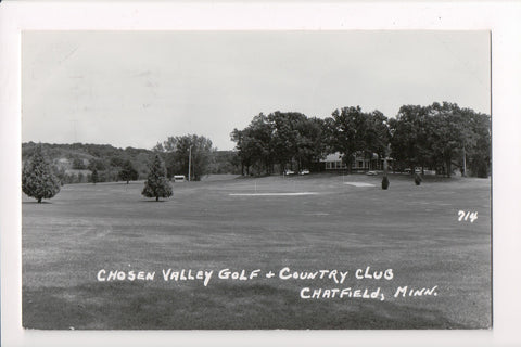 MN, Chatfield - Chosen Valley Golf, Country Club - RPPC - A06839