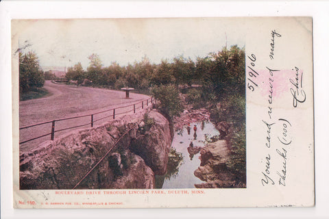 MN, Duluth - Lincoln Park, Boulevard Drive - w03528