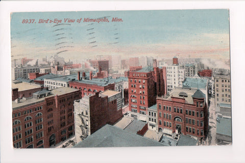 MN, Minneapolis - Aerial view, Oneida Bldg, Walter L Badger Manager - A12109