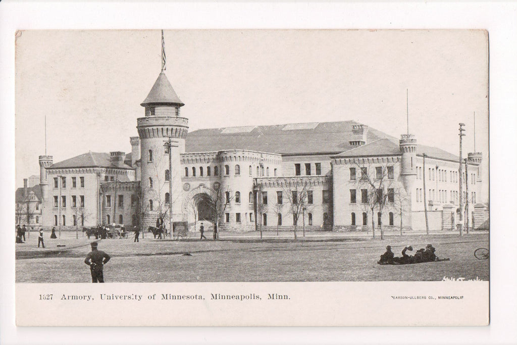 MN, Minneapolis - Armory, University of Minnesota - CP0286