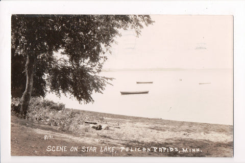 MN, Pelican Rapids - Star Lake scene (ONLY Digital Copy Avail) - G06034