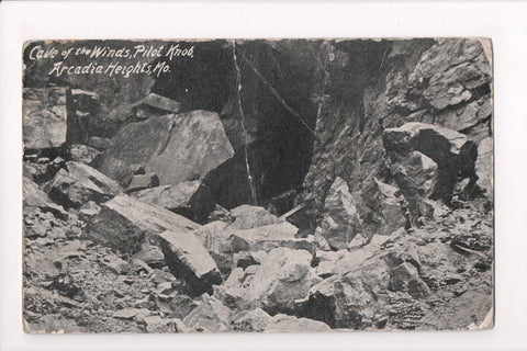 MO, Arcadia Heights - Cave of the Winds, Pilot Knob - @1912 - z17018 **DAMAGED /