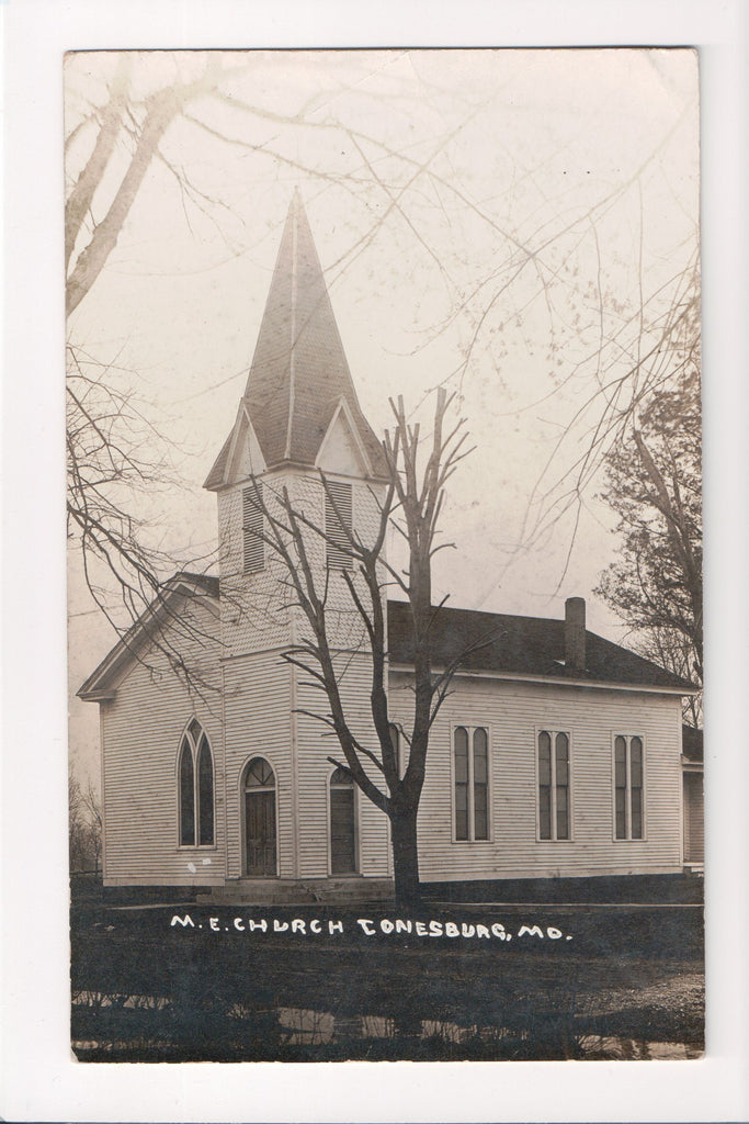 MO, Jonesburg - M E Church RPPC - B06034