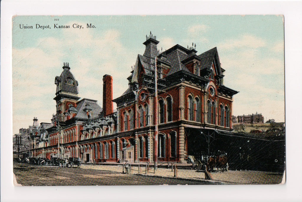 MO, Kansas City - Union Depot, Train Station - C08139