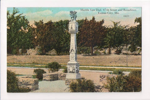MO, Kansas City - Country Club Plaza, Sun Dial (ONLY Digital Copy Avail) - w03624