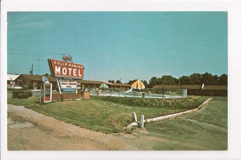 MO, Rolla - Rolla Rancho Motel, telephone booth - w02385