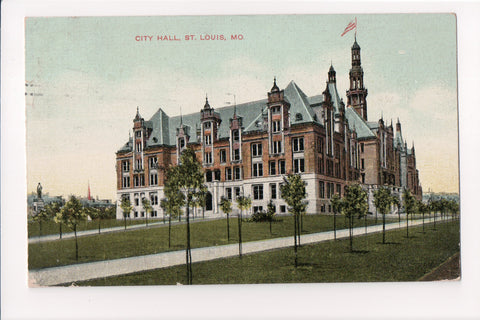MO, St Louis - City Hall postcard - S01322