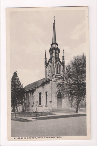 MS, Holly Springs - Episcopal Church postcard - E10264