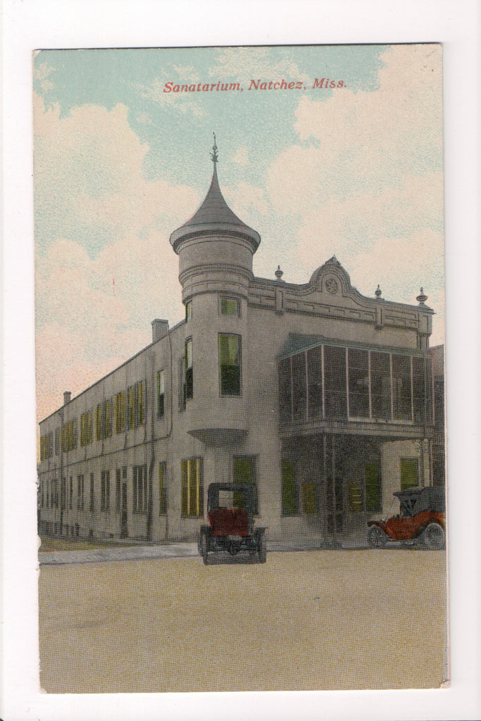 MS, Natchez - Sanatarium, old cars - (ONLY Digital Copy Avail) - CP0205