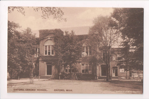 MS, Oxford - Oxford Graded School, Davidson and Wardlaw postcard - E10231