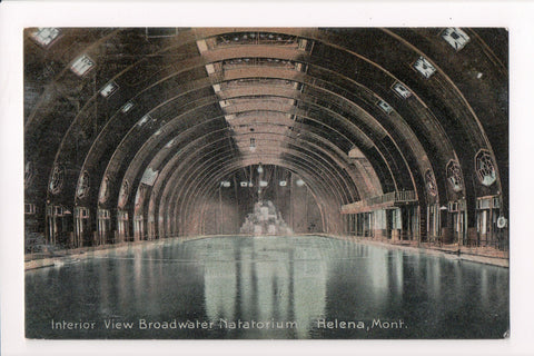 MT, Helena - Broadwater Natatorium interior view - A06869